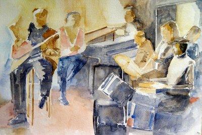 Jazzband 40 x 50 -