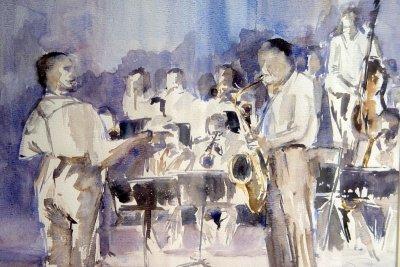 Jazzorkest  40 x  50 -